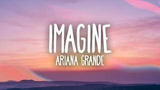 YouTube video E-card Download Ariana Grande Imagine Lyrics  Spotify Playlist  Instagram  Support