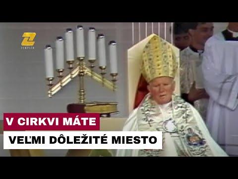 OTEC ĽUBOMÍR PETRÍK – Spomienka na návštevu sv. Jána Pavla II.