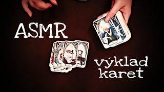 ASMR CZ vykládání karet, šeptání // ASMR interpretation of cards, whisper