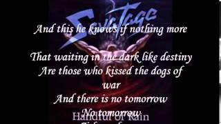 Savatage Chance lyrics