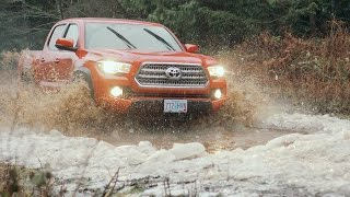 2016 Toyota Tacoma TRD Off-Road Battles a Blizzard
