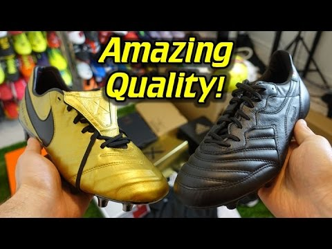 Nike and Diadora Totti Boots!