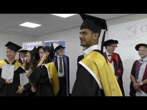 Ozford OIHE graduation