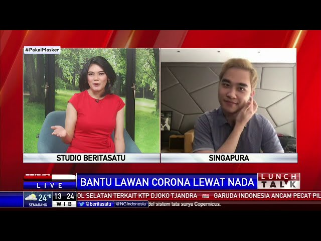BERITA SATU - #1 LAGU UNTUKMU INDONESIA BERNARD DINATA & ABRAM AL