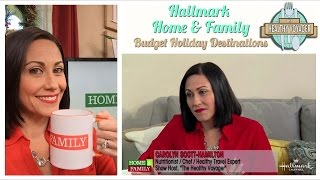 Holiday Travel Segment with Carolyn Scott-Hamilton on Hallmark Home and Family
