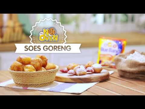 Video Resep No Oven - Kue Soes Keju Goreng