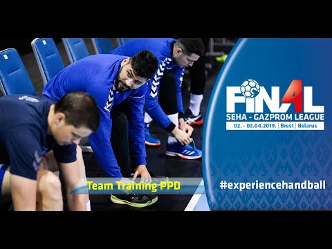 Final 4, 2019 | Team training: PPD Zagreb