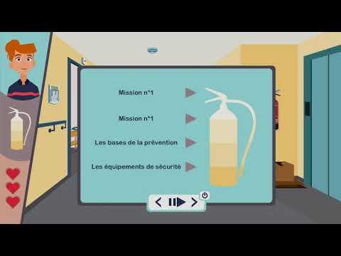 Voix-off module e-learning Les opalines.
