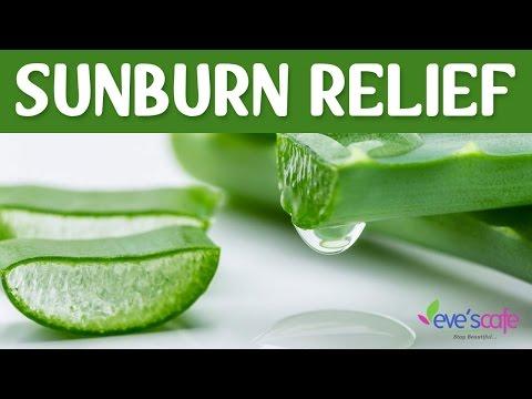Video Quick sunburn relief - Sunburn treatment and remedies