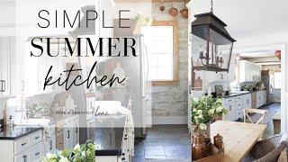 Simple Summer Kitchen