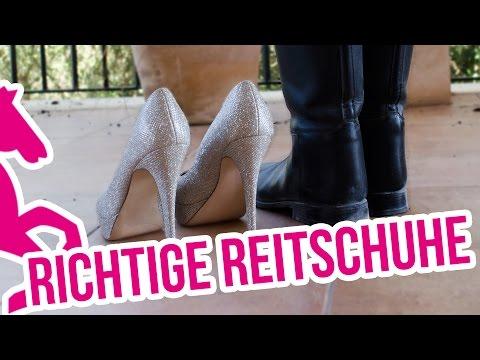 Reitstiefel, Stiefeletten und Turnschuhe - Richtiges Schuhwerk beim Reiten