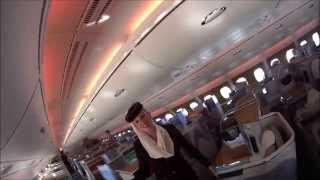 Самый большой пассажирский лайнер в мире - Аэробус А380