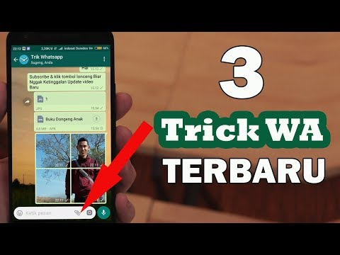 Video 3 Fitur WHATSAPP TERBARU !!! Keren Loh Sob, Udah Tahu Belum ???...