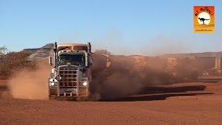 Extreme Trucks #29 - BIGGEST Road train trucks IN THE WORLD Auski Roadhouse in outback Australia