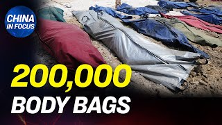 China orders 200,000 body bags from Taiwan; Panic-buying erupts across China amid CCP virus pandemic