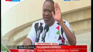 President Uhuru Kenyatta's full speech at the launch of the SGR Train in Mombasa