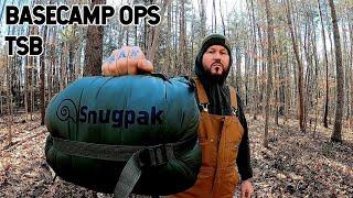 Snugpak Basecamp Ops TSB Sleeping Bag - Review/Test