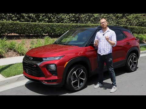 2021 Chevy Trailblazer Test Drive Video Review