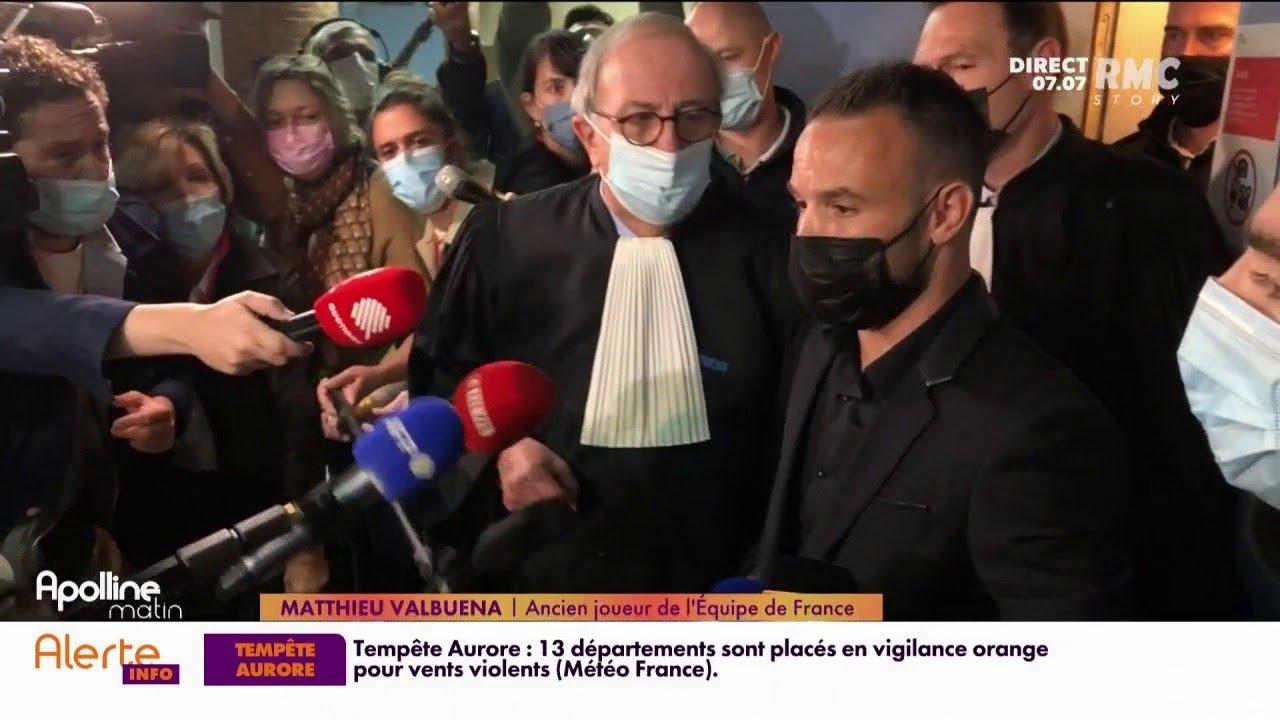 Procès de l'affaire de la sextape: Matthieu Valbuena regrette l'absence de Karim Benzema