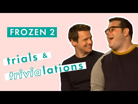Frozen 2's Josh Gad and Jonathan Groff sing hilarious duet and test their film knowledge | Cosmo UK