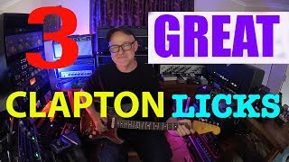 3 Great Clapton Licks | Tim Pierce | Guitar Lesson | How To Play