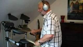 "My second drum performance on my E-Drum-Set Yamaha ""DTXplorer"""