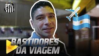 OITAVAS da LIBERTADORES: Os BASTIDORES da viagem rumo a BUENOS AIRES