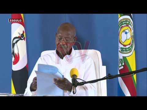 TUKKIRIZE TUKOLE: Aba bodaboda beekubidde enduulu eri Museveni