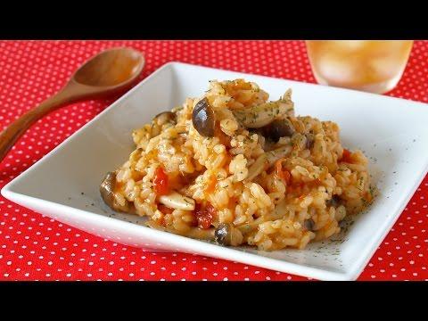 How to Make Risotto using Vegetarian Meat Sauce (Recipe) ベジタリアンミートソースを使ったリゾットの作り方 (レシピ)
