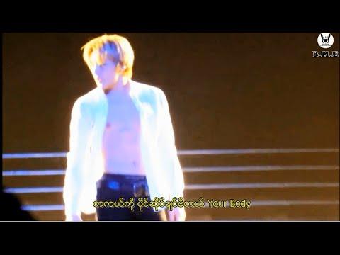 B.A.P - Body & Soul FMV (Myanmar Subtitle)
