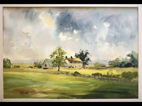 Thumbnail of Farm House, Silsden,the Dales. Watercolour demonstration.