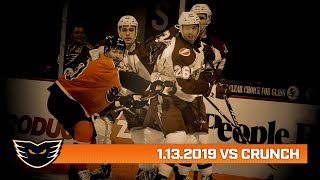 Crunch vs. Phantoms | Jan. 15, 2020