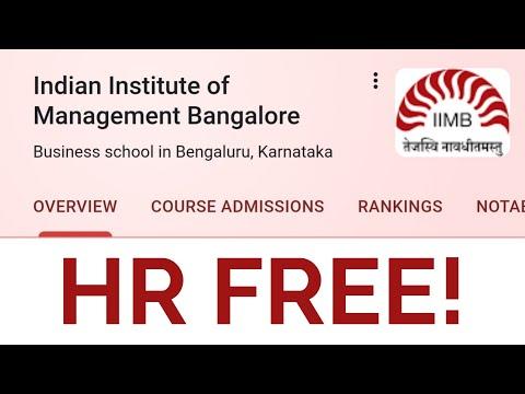 6 Best FREE HR courses by IIM Bangalore Erasmus and HR ...