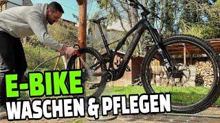 Wie wasche ich mein E-Bike? | E-MTB Reinigung & Pflege Tutorial | Leo Kast