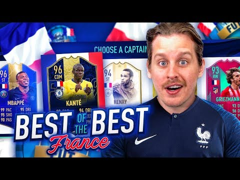 IS FRANCE THE BEST?! THE FULL FRENCH FUT DRAFT CHALLENGE! FIFA 19 Ultimate Team