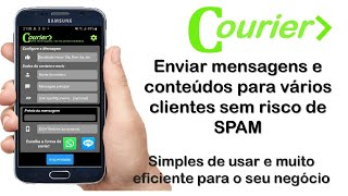 Eu vou enviar app p/ automatizar o envio de SMS/Whats