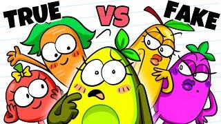 REAL vs FAKE FRIEND - Who Stole My Boyfriend?! Avocado Couple