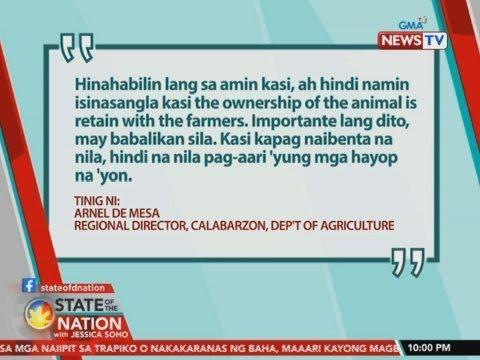 [GMA]  SONA: Suhestiyon ng DA, sila na ang mag-aalaga sa mga hayop ng…