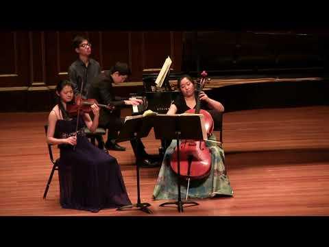 Ravel Piano Trio II. Pantoum: Assez Vif