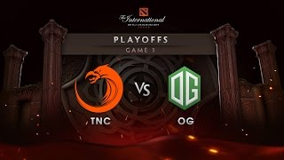 OG vs TNC - Lower Bracket - Game 1 - The International 6