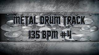 Djent/Prog Metal Drum Track 135 BPM | Remix