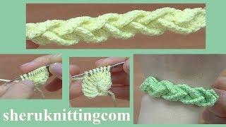 Crochet Bracelet Tutorial 176
