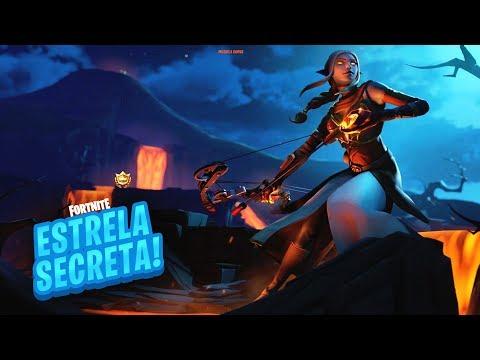 ESTRELA/ESTANDARTE DE BATALHA SECRETA SEMANA 5 TEMPORADA 8 DE FORTNITE