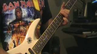 Anvil - Jackhammer  (guitar cover)