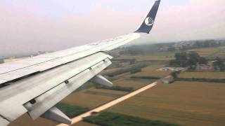preview picture of video 'Bejing to Xian , Air China, Boeing 737 , Full Flight'