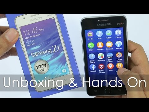 Development sub main tizen developers samsung z1 smartphone with tizen os unboxing hands on overview ccuart Images