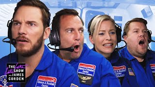 Astronaut Training w/ Chris Pratt, Elizabeth Banks & Will Arnett