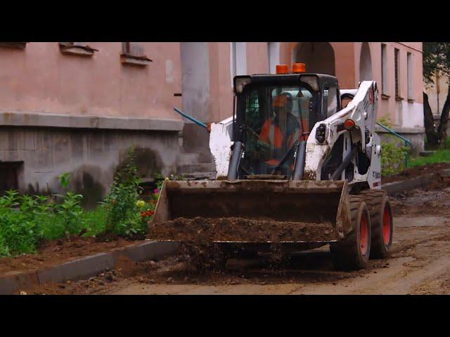 В Ангарске стартовал проект «Дворы без ям»