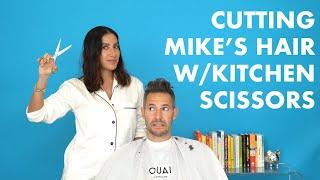 HOW TO CUT MENS HAIR AT HOME | Jen Atkin