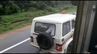 Truck and RTO police ki race